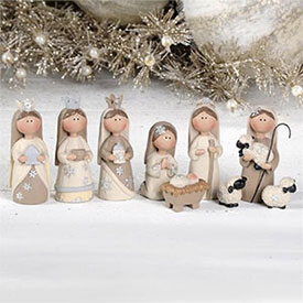Miniature Nativity