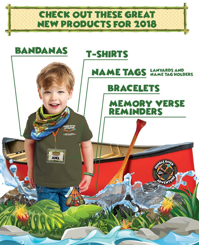 New Bogard Press VBS Items in 2018