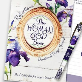 Woman God Sees Journal Set