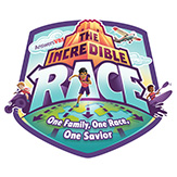 The Incredible Race VBS Logo