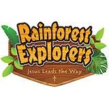 Rainforest Explorers VBS Logo
