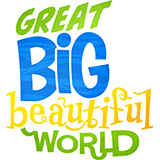 Great Big Beautiful World VBS Logo