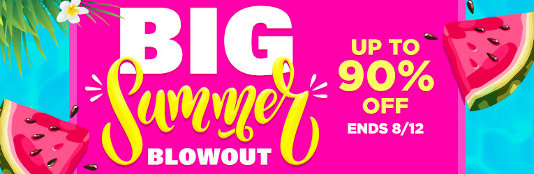 Big Summer Blowout on Books-Ends 8/12
