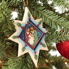 Star Spinner Ornament