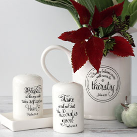 Scripture Tableware