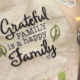 Grateful Family Runner