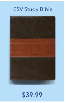 ESV Study Bible Leather