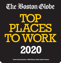 One of the Boston Globe's Top Places to Work for 2020